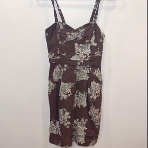 Wilfred Floral Bustier Dress